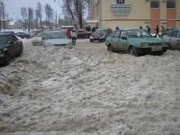 Новгородские активисты нашли идеально расчищенные дворы: возле домов мэра и губернатора