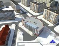 Представлен проект паркинга на улице Волотовской