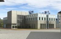 Эскизный проект торгово-офисного здания по Большой Санкт-Петербургской улице