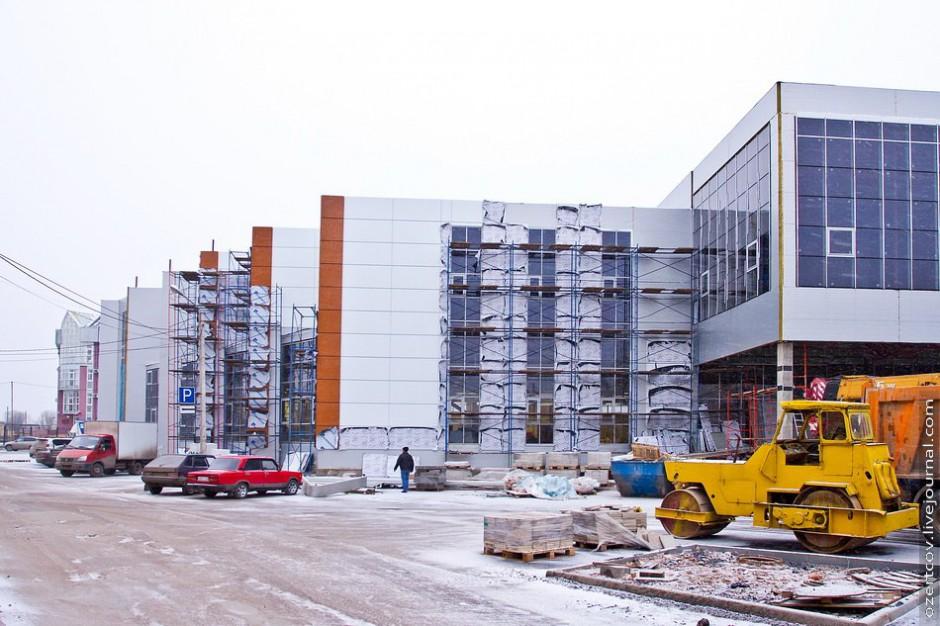 Торговый центр на улице Германа готовится к открытию