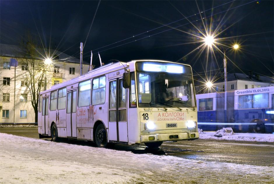 Троллейбус Skoda-ВМЗ-14Tr в Великом Новгороде
