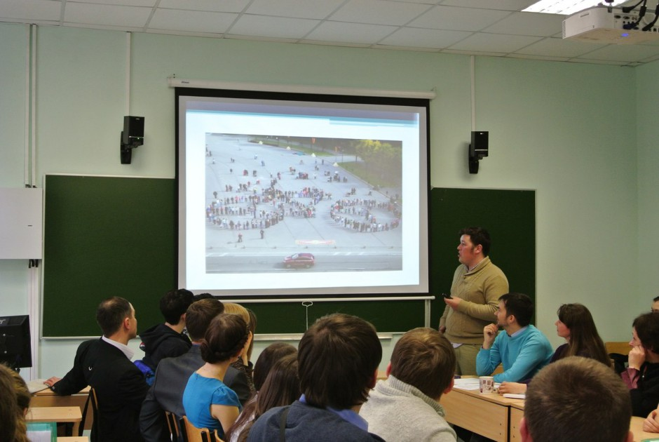 """""""Новый город"""" был представлен на Большом географическом фестивале в Санкт-Петербурге"""