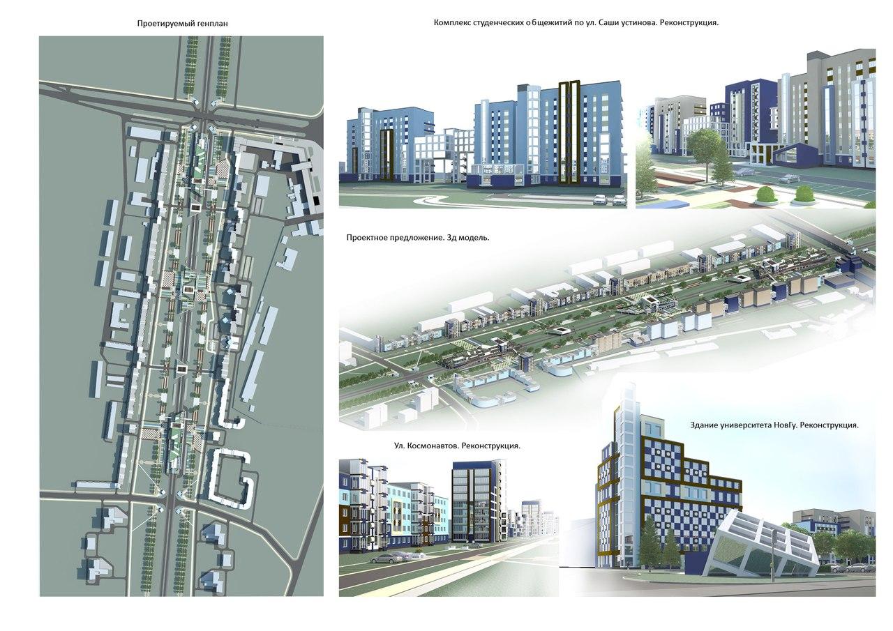 Работы студентов-дизайнеров: градостроительная утопия или неизбежное будущее?