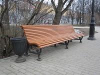 Уличная мебель: скамейки