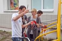 В Великом Новгороде стало на одну велопарковку больше