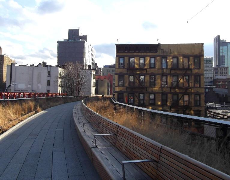 NY highline hl-bench