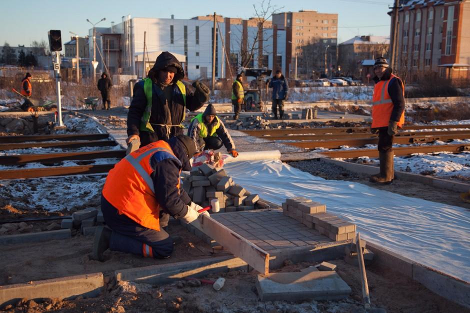 В Великом Новгороде началось строительство ж/д перехода