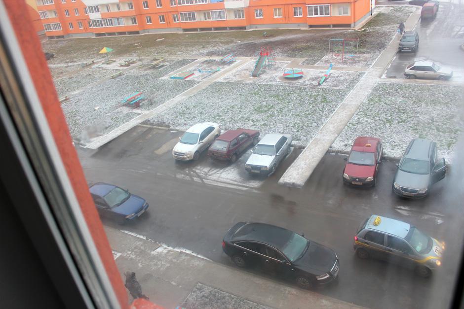 Выносы тротуаров на глубину парковки
