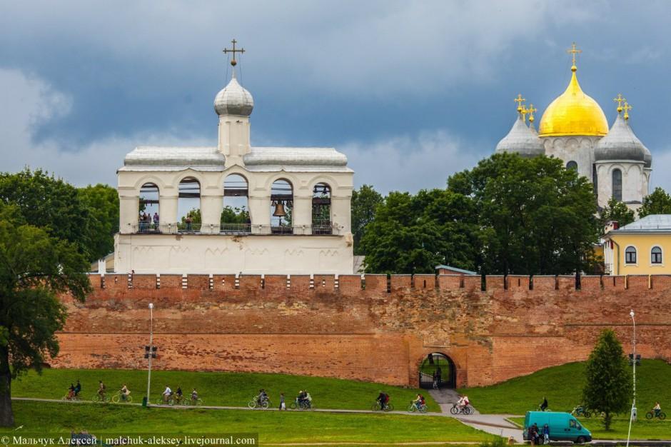 Велосипедизация Великого Новгорода неизбежна