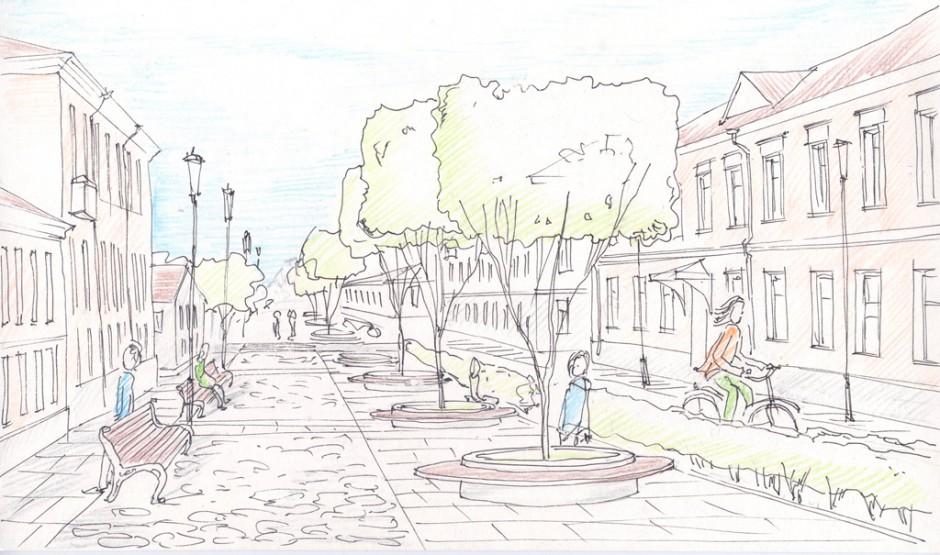 Московский архитектор предложил сделать улицу Ильину пешеходной
