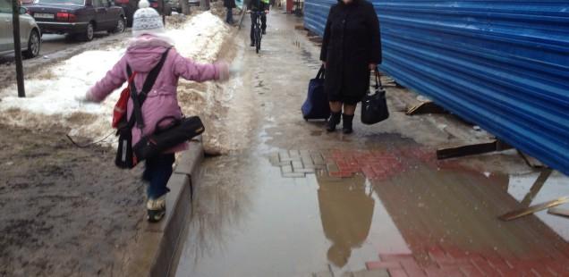 Зима 2014-2015 глазами новгородцев: пора отказываться от грязи на дорогах!