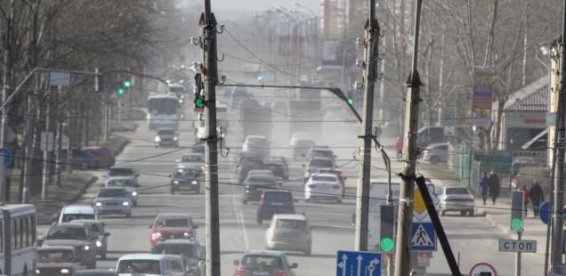 Великий Новгород задыхается от пыли