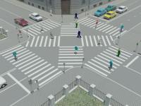 В России появятся диагональные пешеходные переходы и новые дорожные знаки