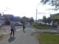 Стало: автомобили вдоль дороги