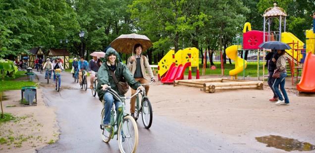 Во вторник Великий Новгород примет участие в международной акции «На работу на велосипеде»