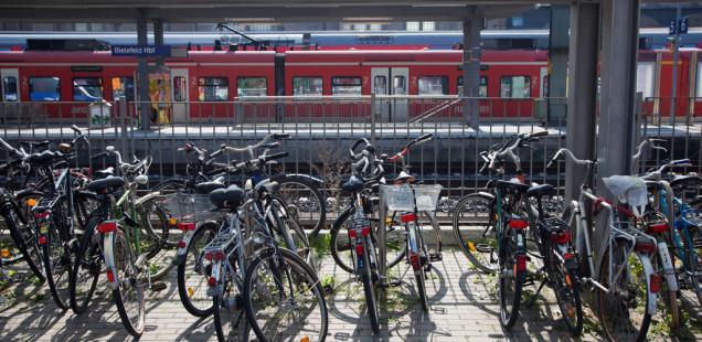 «Билефельд — город, удобный для велосипедистов»