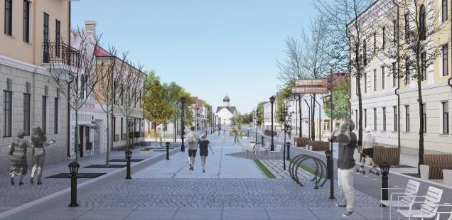 Идея: пешеходная Ильина улица