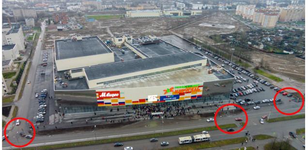Прокуратура выявила нарушения ГОСТов на пешеходных переходах у Гагаринского рынка и у «Мармелада»