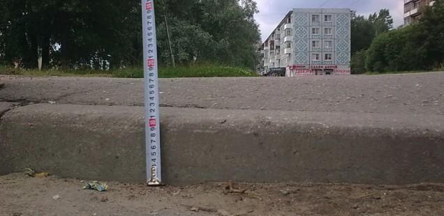 На пешеходных переходах у ТРЦ «Мармелад» будет понижен бордюрный камень