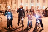 Великий Новгород отметил «Час Земли» отключением подсветки зданий и велозаездом