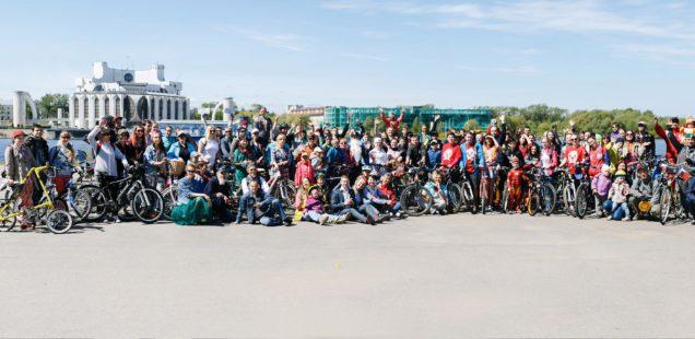 Участники Новгородского Велопарада подписали петицию в поддержку развития велоинфраструктуры
