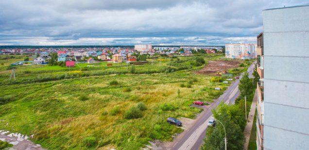Начались работы по благоустройству сквера на Коровникова