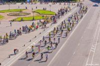 Более 800 человек приняли участие в велопараде в Великом Новгороде