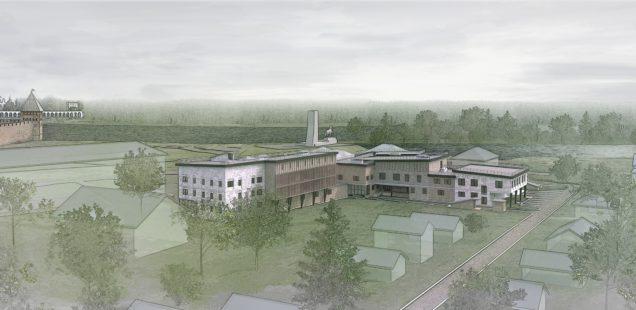 Идея: здание фондохранилища Новгородскогомузея-заповедника