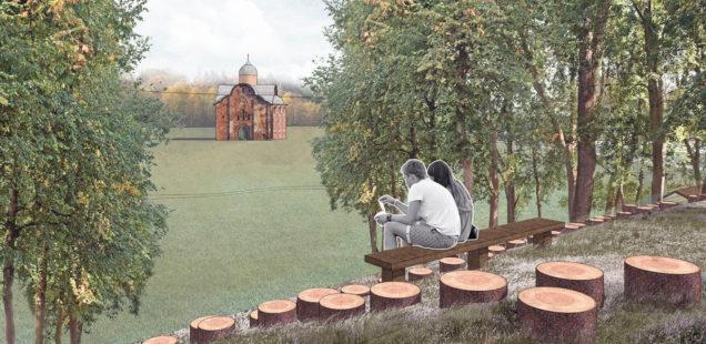 Идея: Культурно-рекреационный маршрут по валу Окольного города