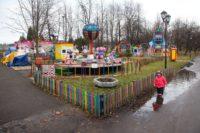 В парке 30 лет Октября появятся сетка для лазанья и песочный экскаватор