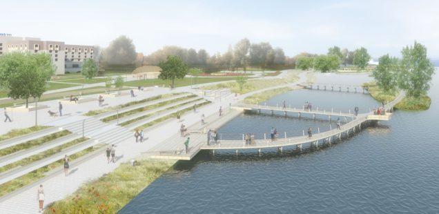Идея: Организация набережной парка «30 лет Октября»